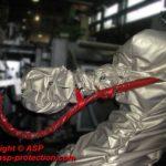 housse protection robot cover gaine telupro fonderie sous pression ASP eulmont