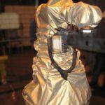 housse protection robot cover ABB tissu base aramide tiffon R ASP eulmont