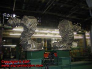 housse protection robot cover telupro fonderie sous pression ASP eulmont