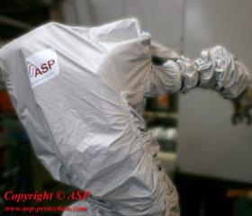 Housses de protection pour robots de manutention