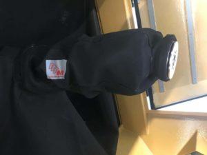 housse protection robot cover sablage tissu caoutchouc naturel très absorbant TLA ASP eulmont