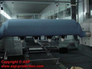 housse protection robot cover jetable fourreau automobile ASP eulmont