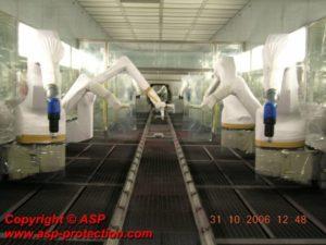housse protection robot cover jetable durr RP6 / RP7 automobile ASP eulmont