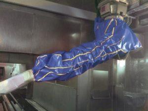 housse protection robot cover lavable telupro fonderie automobile ASP eulmont