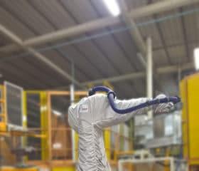 Housses de robot, ligne peinture – Gamme Lavable