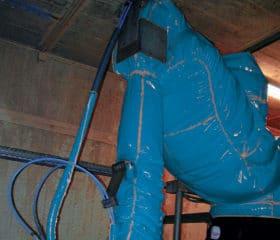 Housse de protection pour robots de décapage