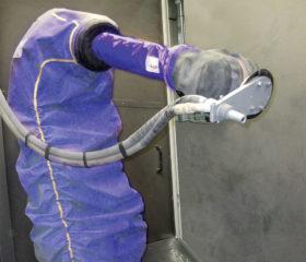 Housse pour robot de pulvérisation