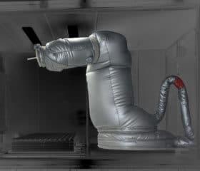 Housse pour test thermique de résistance à l'usure