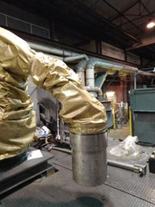 protection robot fanuc housse de poignet Lebronze Alloys lbm industries