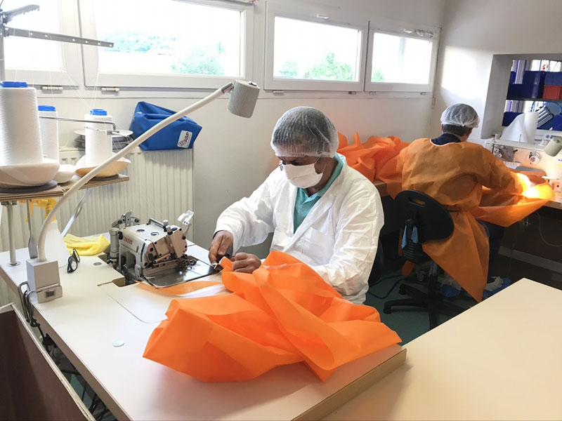 ASP : les salariés bénévoles pour lutter contre la Covid-19
